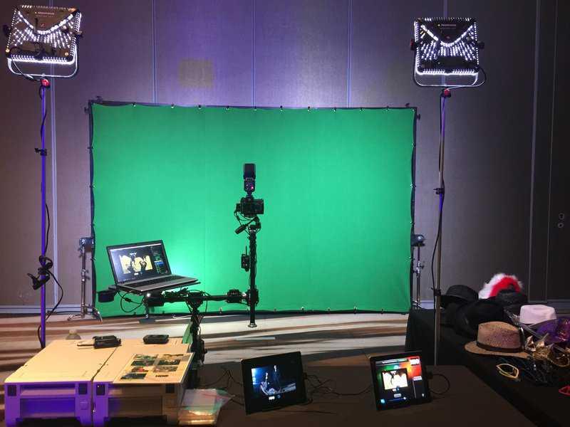 Dallas green screen photo booth 2