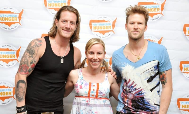 A Houston Red Carpet Photographers meet and greet with Florida Georgia Line