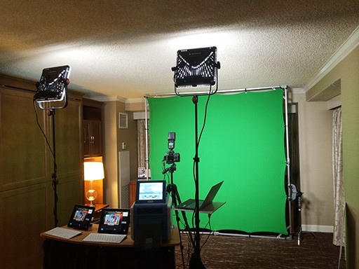 green screen event photography washington dc
