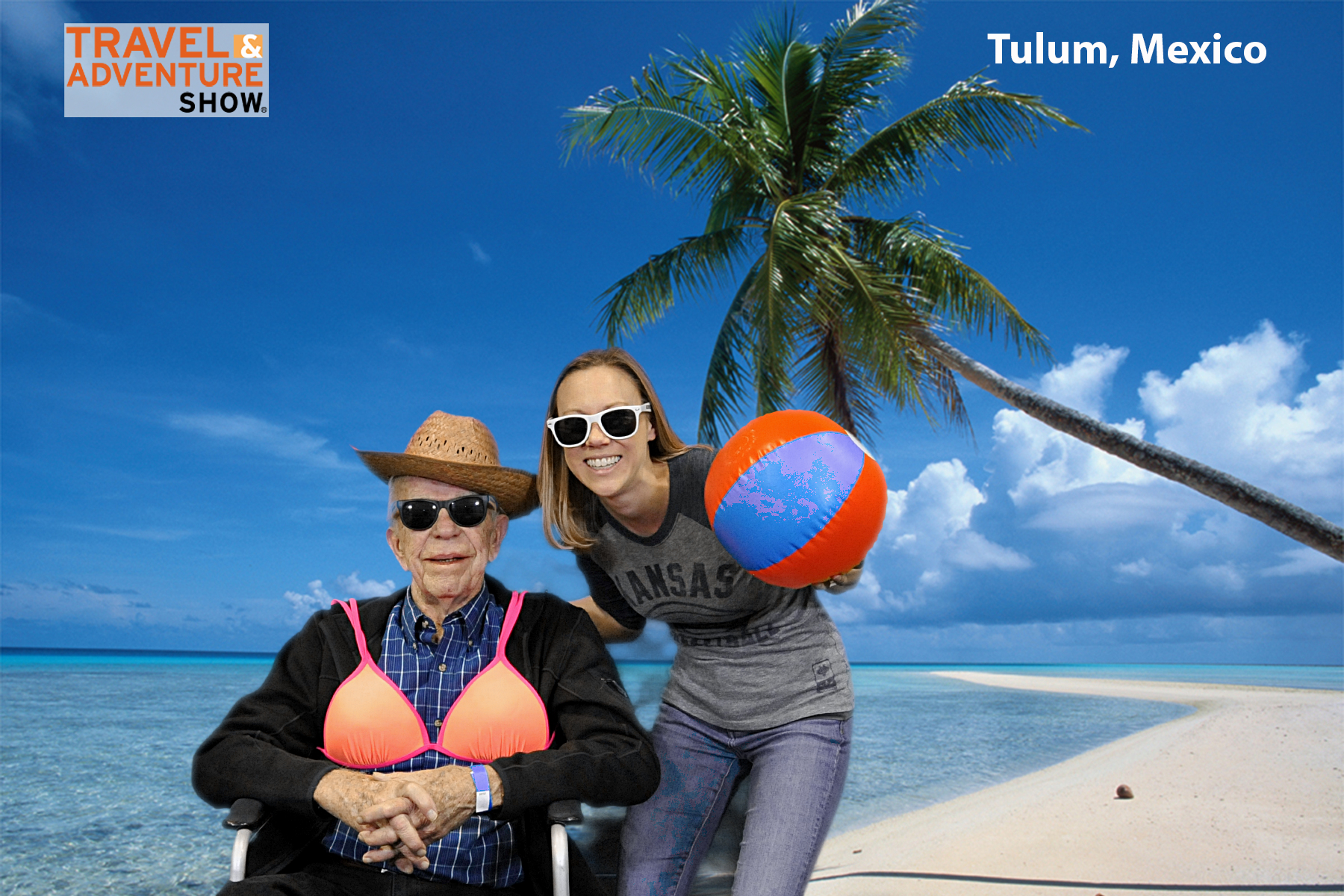 green screen event photography at Travel and Adventure Shows 8