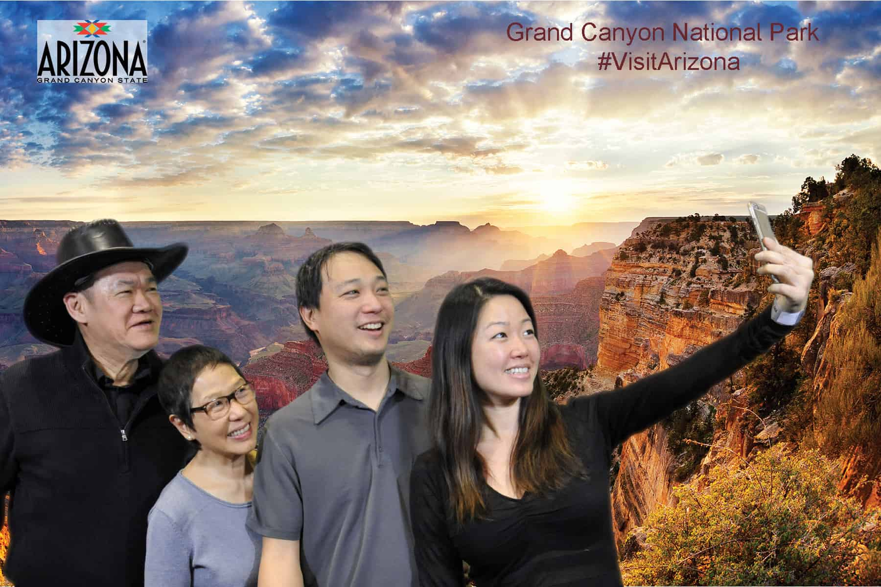 Arizona Office of Tourism green screen photography