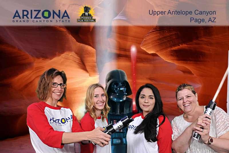 Arizona Office of Tourism Green Screen Photogrpahy 3
