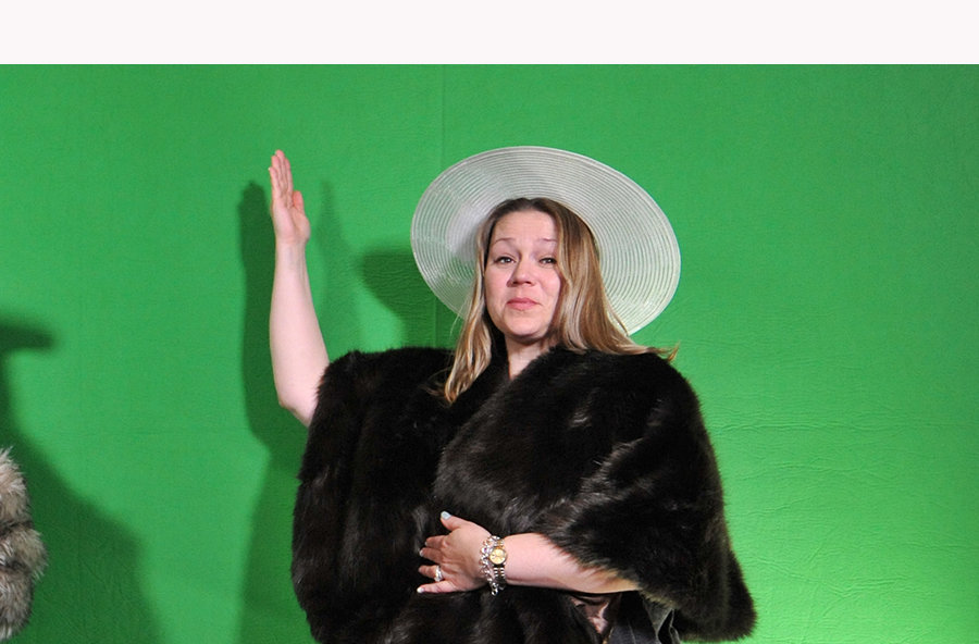 original Miami Green Screen Photo Booth Image