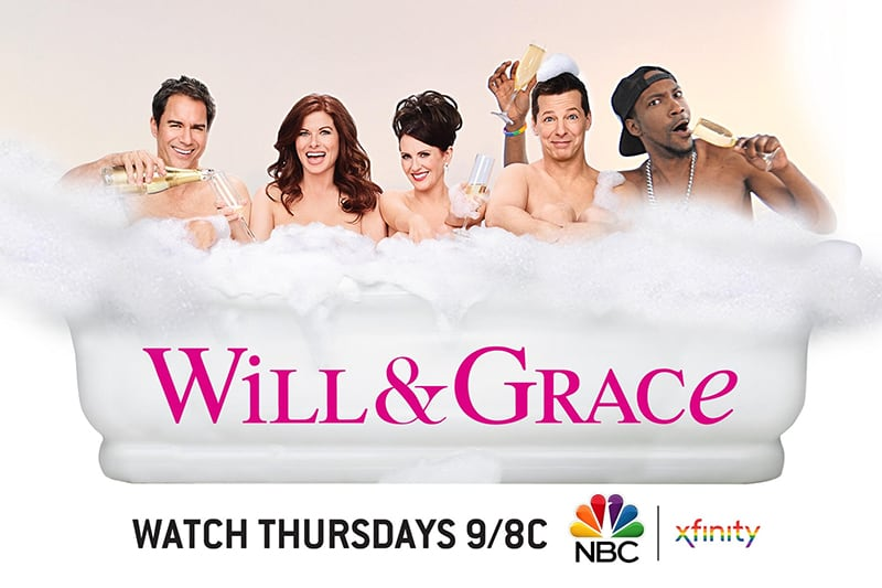 Experiential Photo Marketing booth for NBC with Will and Grace