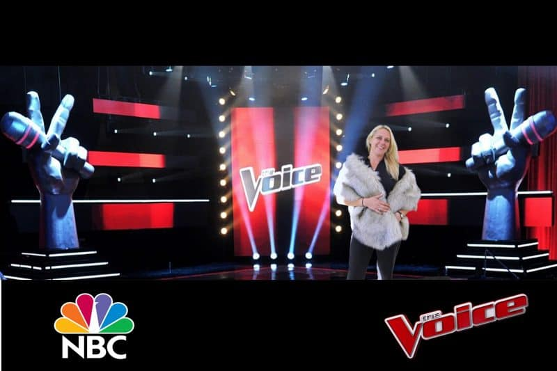 Atlanta green screen photoraphy The Voice for NBC