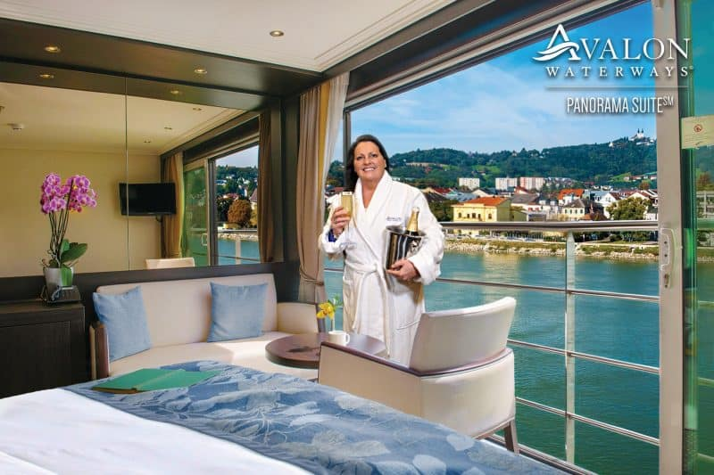 Miami green screen photo booth for Avalon Waterways showing a river cruise.