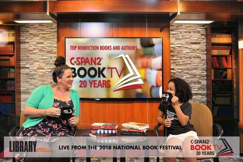 Nashville green screen photo booth CSPAN Book TV