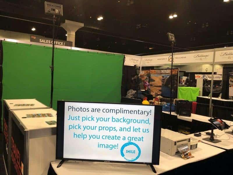 Our flagship Orlando greenscreen photo booth