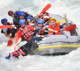 Denver green screen photo booths white water rafting colorado river