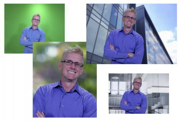 Denver green screen photography head shots