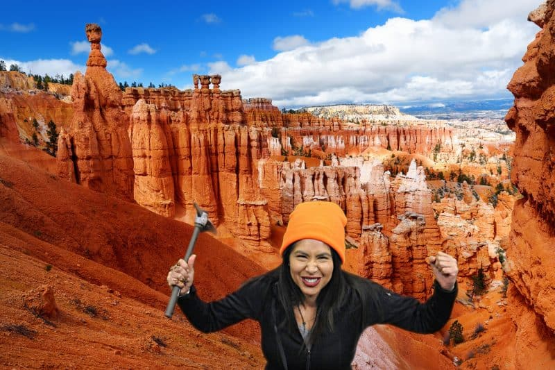 Salt Lake City Green Screen Photo Booth with Bryce Canyon.