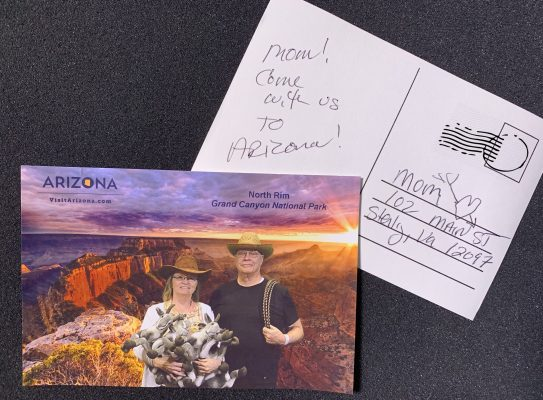 Salt Lake City Green Screen Photo Booth images printed to post cards