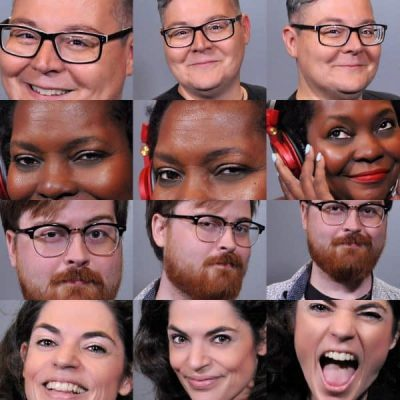 dallas headshot photo booths with automatic touch up
