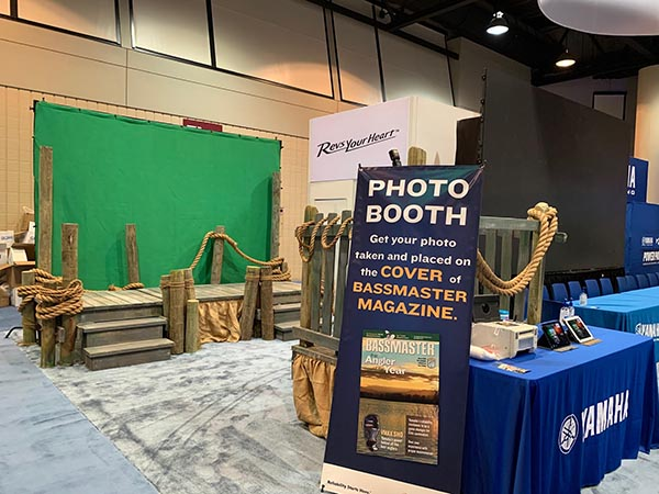 Miami green screen photo booth for Yamaha Outboards