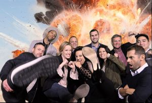 Washington dc red carpet photography with the cast of Strikeback