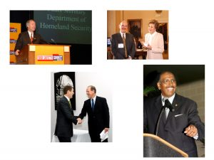 Collage of photos from 2005