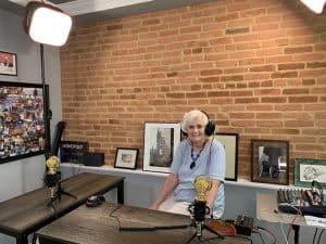 Mary Ann Gatty in the US Event Photos Podcast Stuido