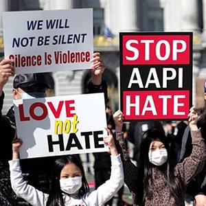 AAPI Protestors in Baltimore
