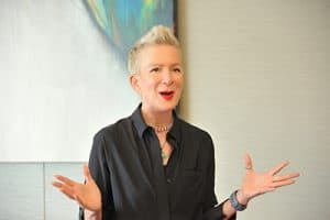 Author and speaker Shelley Brown in a promotional photo for her website.