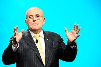 Philadelphia convention photographers Rudy Giuliani