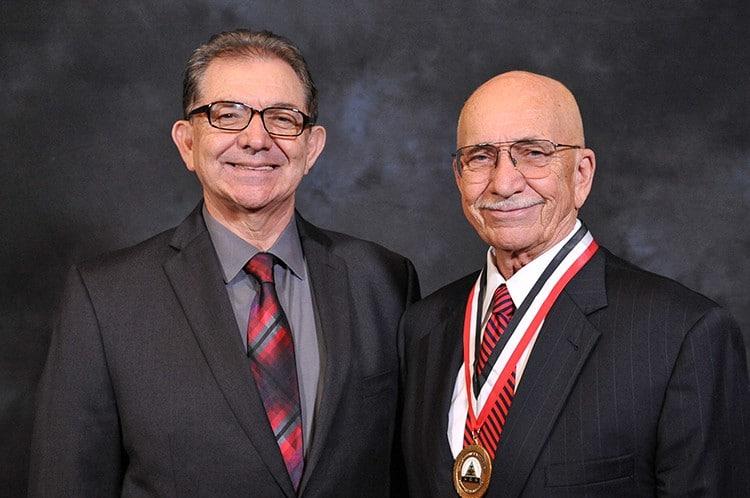 A scientist receives a lifetime achievement award at this Washington, DC convention